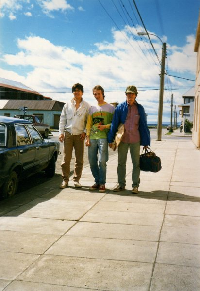 Glen, Flaco y Ed